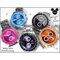 Disney ディズニー ミッキー 腕時計 80周年記念カラーメタルウォッチ  〜MICKEY MO...