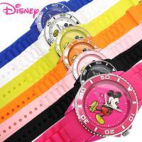 腕時計 ディズニー Disney ミッキーマウス シリコンベルト ユニセックス レディース 男女兼用...