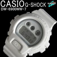 CASIO G-SHOCK カシオ 腕時計 DW-6900WW-7 Gショック ソリッドカラーズ オ...