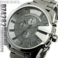 DIESEL ディーゼル 腕時計 メンズ クロノグラフ DZ4282 メガチーフ  MEGA CHI...