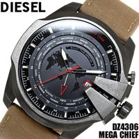 DIESEL ディーゼル 腕時計 メンズ ウォッチ DZ4306 メガチーフ 時計 ブランド MEG...