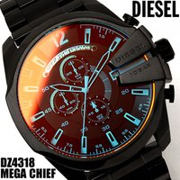 DIESEL ディーゼル 腕時計 メンズ クロノグラフ DZ4318 メガチーフ MEGA CHIE...