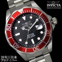 腕時計 メンズ ダイバーズウォッチ INVICTA インビクタ 12565 時計 防水 プロダイバー...