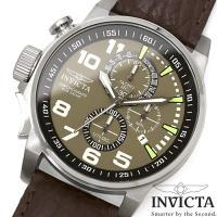 腕時計 メンズ INVICTA インビクタ 13054 クロノグラフ フォースコレクション ブラウン...