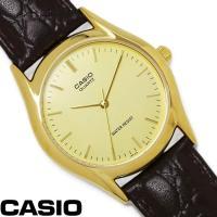 チプカシ 腕時計 アナログ CASIO カシオ チープカシオ メンズ MTP-1094Q-9A 革ベ...