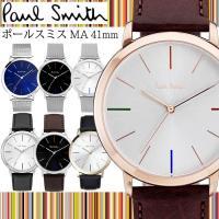 ポールスミス Paul Smith メンズ 腕時計 MA エムエー 41mm アナログ クオーツ レ...