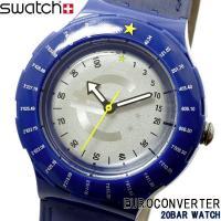 腕時計 swatch スウォッチ メンズ レディース SDZ103 EUROCONVERTER スキ...