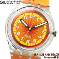 腕時計 swatch スウォッチ メンズ レディース SKK128 SEA SUN AND BEAC...