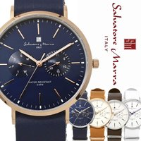 腕時計 メンズ レディース サルバトーレマーラ NATOベルト 時計 革ベルト ユニセックス SM1...