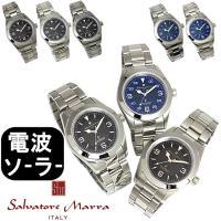 メンズ 腕時計 サルバトーレマーラ Salvatore Marra 電波ソーラー SM16113 人...