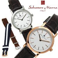 レディース 腕時計 サルバトーレマーラ Salvatore Marra 替えベルト付き 3WAY S...