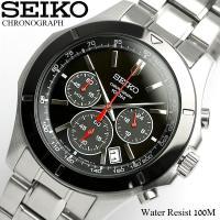 クロノグラフ セイコー メンズ 腕時計 SEIKO セイコー SSB111P1 レア 海外モデル 腕...