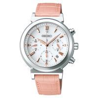 ルキア セイコー ソーラー 腕時計 クロノグラフ レディース LUKIA SEIKO SSVS007...