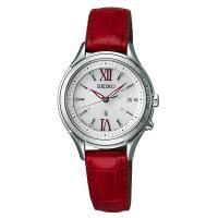 ルキア セイコー 電波ソーラー 腕時計 レディース LUKIA SEIKO SSVV013 電波 ソ...