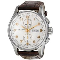 ■商品詳細 Silver chronograph and day date dialBrown le...