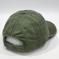 ヴィンテージ洗浄綿調節可能なお父さん帽子ベースボール キャップ