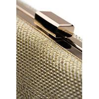女性クラッチ財布財布ハード ケース イブニング バッグ キラキラ チェーン ストラップ付きハンドバッグ