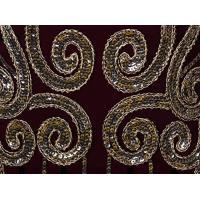 Vijiv 1920 年代ビンテージ風スパンコール付けフリンジ長いギャツビー フラッパー ドレス