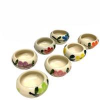 陶磁器(セラミック)のコーン専用お香たてになります。 タイ製ですので作りは雑ですが、それがかえって良...