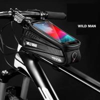 サドルバッグ 大容量 ロードバイク マウンテンバイク クロスバイク 自転車 人気 防水 サイクルフロントバッグ スマホ収納 小物入れ ロードバイク アウトドア