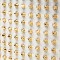 ラシカル エキドナ ハリートート スタッズ バッグ ラインストーン キャンバス トートバッグ メンズ レディース トゲトゲ 白×白×ゴールド STB007