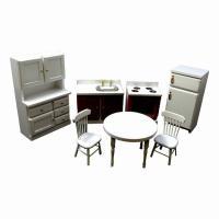 大人気の木製ミニチュア家具セット 木のぬくもりが暖かいです。   お部屋のインテリアに、お店のディス...