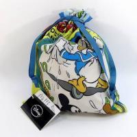 ディズニー巾着M ミッキー&ドナルド 大きいA4サイズ 巾着袋 手提げバッグ ミッキーマウス ML-515 DM便OK