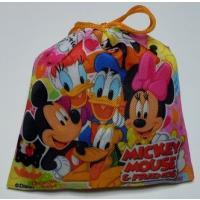 バレンタイン、ホワイトデイ、クリスマスのプレゼントに最適です。 ディズニーカラフル巾着袋にチョコ菓子...