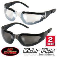 【HOTLEATHERS Rider Plus Sunglasses】 紫外線をカットするUV400...