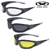 【 特別価格! HOTLEATHERS Ultra Anti-Fog Sunglasses 】  日...