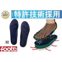 消臭3Dインソール(中敷き) foota 足の臭い対策