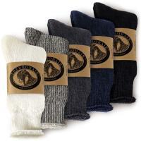 暖かさを逃がさないレギュラーソックスは、真冬の防寒対策にピッタリの靴下です。  上質で優しい肌触り!...