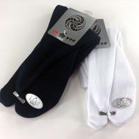 足袋用のソックスです。色は白、紺の2色です。親指の部分が分かれていますので足袋にぴったりとフィットし...