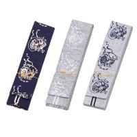 ひらぐけ帯【風神】帯幅6cm・帯長さ3.0m 品質 綿100%色 藍・ネズ/紺・ネズ/白