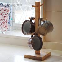 木製で出来たマグカップツリー。 キッチンがオシャレになりますよ!  シンプルイズベストのキッチンツー...