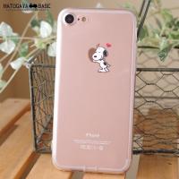 スヌーピーiPhone8/iPhone7ケース SNOOPY BEAGLE HUG