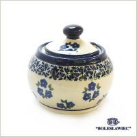 ポーランド ザクワディ ボレスワヴィエツ陶器社のシュガー入れ(S)です。 ご要望の多かった小さめのサ...