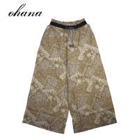 ohana オハナ vintage バンダナ柄 ワイドパンツ E-28106442