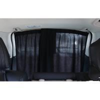 ・Desirable製 車用 シャットカーテン 遮光 ブラック 2枚セット 車中泊に最適 普通車用 ...