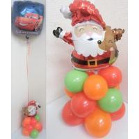 クリスマスバルーン ヘリウムガス入り プレゼントやパーティー装飾におすすめ バルーン クリスマス 飾...