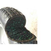 一輪車用 ノーパンクタイヤ 軸付 新品 内部が発砲ゴムのためパンクしない!修理ロスがなく経済的です。...