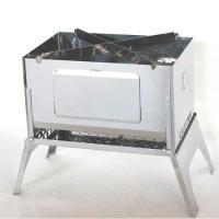 笑's コンパクト焚き火グリル 「A-4君」 SHO-0009  ・収納サイズ: 約292mm×20...