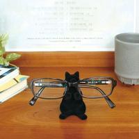 ■変なポーズで色々なアイテムを支える猫の置物 ■真っ黒なシルエット姿が、さらにポーズを際立てています...