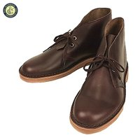 Clarks クラークス Desert Boot Horween Wine Leather US L...