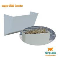 イタリアferplast社製 うさぎやモルモットのケージ用 牧草入れ。   外から簡単にに取り付けら...