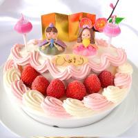 ひな祭り 限定 ・ ひなまつり アイスケーキ 卵 ・ 小麦 アレルギー 対応 6号