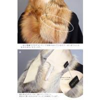 WEBショップ15周年記念P15倍 日本製 SAGA サガ レッドフォックス ファー 大判 ストール ブラウンレッド系ナチュラルカラー