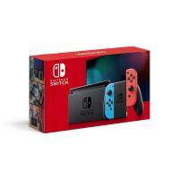 Nintendo Switch 本体 (ニンテンドースイッチ) 【Joy-Con (L) ネオンブルー/ (R) ネオンレッド】 (バッテリー持続時間が長くなったモデル)