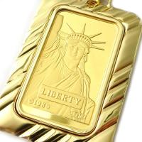 liberty20 ◆リバティ金貨:約20g ◆本体飾り枠:18金約6.5g  ◆総重量:約26.5...