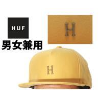 ハフ スモール メタル H ストラップバック ハット 男性用兼女性用 HUF HT00142 帽子(23752096)